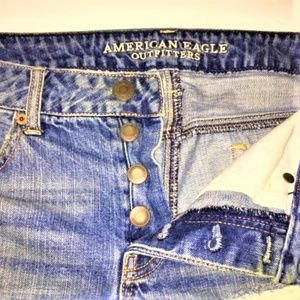 American Eagle Outfitters Distressed Jeans Shorts